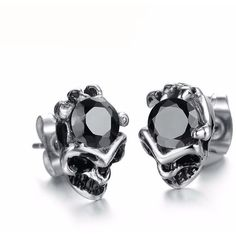 Big Skull Crystal Earrings – Skullflow    https://www.skullflow.com/collections/skull-earrings/products/big-skull-crystal-earrings