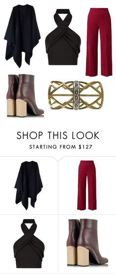 """""""Untitled #1980"""" by marta-moreno-1 ❤ liked on Polyvore featuring Acne Studios, The Row, Finders Keepers, Marni, women's clothing, women, female, woman, misses and juniors"""
