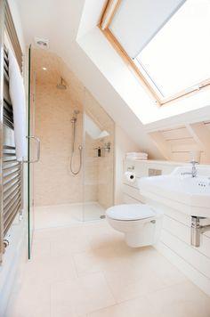 Photo of a beach style bathroom