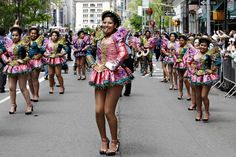 Dance Parade in New York (21 May, 2016):   http://blangua.com/p/en/new-york/live/dance-parade