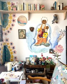 Interior Paint, Interior And Exterior, Art Shed, You Are Home, Bohemian House, Mural Wall Art, Home Comforts, Art For Art Sake, Home Wallpaper