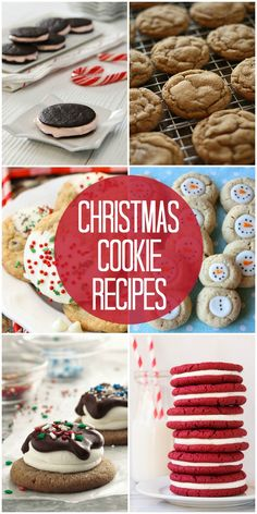 Christmas Cookie Recipes from { lilluna.com } (PERFECT for holiday cookie exchanges!!)