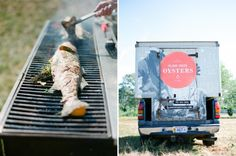 grilled fish and fresh oysters. Grilled Sardines, Grilled Fish, Island Creek Oysters, Fresh Oysters, Loft Style, Grilling, Summer, Summer Time, Crickets