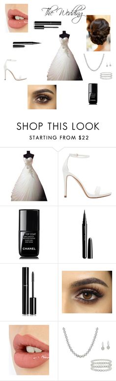 """""""The Wedding"""" by lover-860 ❤ liked on Polyvore featuring beauty, Zara, Chanel, Marc Jacobs, Charlotte Tilbury and Honora"""