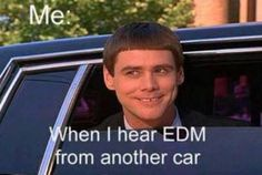 "YES! I have screamed ""SCHUUUULLLLZZZZ"" at a passing car before. Got a peace sign in return.  #edm"