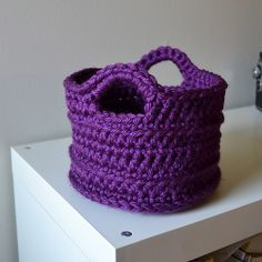 Ravelry: elizabeth-ray's Another Chunky Basket