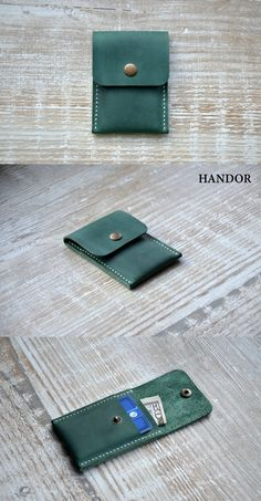 The Handmade Leather Card Wallet (front pocket wallet).. It is light, practical and elegant, made of soft leather, very durable and created with love. Its small size makes it perfect for people who like front pocket wallets. Its an awesome, unique gift idea that will make the lucky recipient a very happy camper. This is a gift that will be used and loved for a lifetime! Perfect for the executive, professional, father, or dear friend in your life.