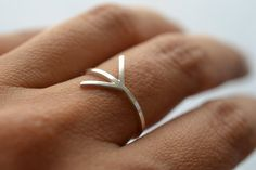 ▽ △▽ △▽ △▽ △▽ △▽ △▽    Because we need to do things our way, what comes from the heart...      △Reclaimed silver arrow ring. Completely hand