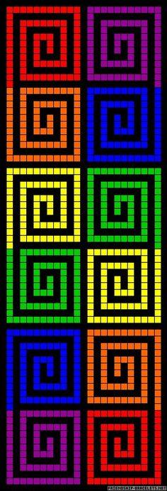 59 ideas for crochet bookmark ideas cross patterns Bead Loom Patterns, Alpha Patterns, Perler Patterns, Peyote Patterns, Beading Patterns, Cross Stitch Patterns, Crochet Patterns, Jewelry Patterns, Crochet Bookmarks