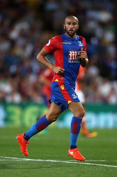 Andros Townsend of Crystal Palace in action during the EFL Cup Second Round…