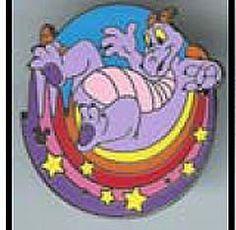 Disney Cast Lanyard Pin - Figment Rainbow - Bottom