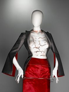 Ensemble, The Hunger, spring/summer 1996 | Alexander McQueen: Savage Beauty | The Metropolitan Museum of Art, New York