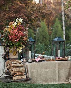 Fall Tablescape Ideas - Designer Tabletop - House Beautiful