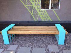 {DIY} un canapé en parpaing pour votre jardin!