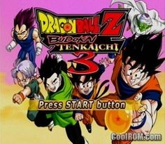 DragonBall Z - Budokai Tenkaichi 3 ROM (ISO) Descargar para Sony Playstation 2 / PS2 - CoolROM.com