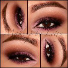 Brown-Pink Eye Makeup I wish I could some how pull this off. Beautiful!!