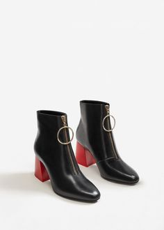 Black Ankle Boots Fall 2017 Booties - Zara, H&M, J.Crew