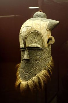 Mask - East Kuba, DRC - Royal Museum for Central Africa