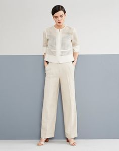 Angelica Jacket, Camisole and Cuffed Rivington Pant