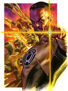 Sinestro Corps by Felipe Massafera