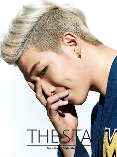 Rap Monster from Kpop boy band BTS - Leader & Rapper