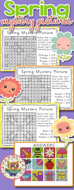 Spring Mystery Pictures