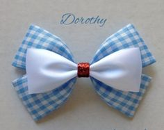 donald hair bow by abowtiqueshop on Etsy