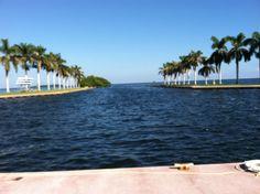 The Deering Estate, water view.  Miami, Florida.