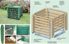 #diy composter step-by-step!   compostiera #faidate