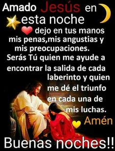 Prayer Quotes, Bible Quotes, Spanish Prayers, Good Night Blessings, Good Night Quotes, Spanish Quotes, Trust God, Christian Quotes, Intuition