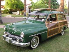 1949 Monterey by Mercury. Dream car for a west coast beach road trip :)
