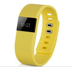 Yellow Newest Fitness Tracker Bluetooth Smartband Sport Bracelet Smart Band Wristband Pedometer For iPhone IOS Android PK Fitbit ** Details can be found by clicking on the image. (This is an affiliate link) Electronics Gadgets, Technology Gadgets, Fitness Tracker, Sport Watches, Gaming Desktops, Smart Watch, Fitbit, Bluetooth, Smartwatch