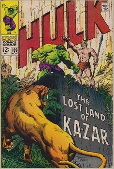 315 best comics images on pinterest comic covers comics and the incredible hulk 109 1st series 1962 1999 november 1968 marvel comics grade vgf fandeluxe Choice Image