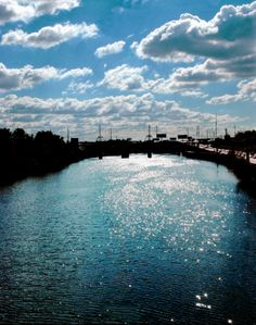 Schuylkill River (looking east from South St. Bridge)