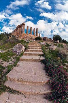 La Vallée des Temples, Agrigente - Sicile.