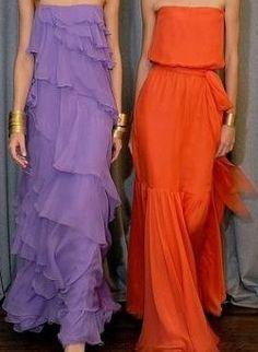 The Evolution of Fashion Red Yellow Turquoise, Orange And Purple, Shades Of Purple, Orange Color, Orange Style, Purple Vests, Purple Palette, High Fashion Outfits, Evolution Of Fashion