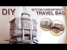 Comment coudre grand sac de voyage - Tuto couture | DIY Large Travel Bag #sewingtimes - YouTube