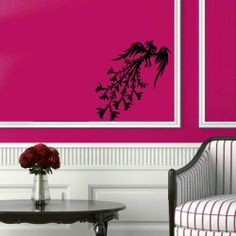 Wall Vinyl Sticker Decal Art Design Fairy Bird Phoenix Peacock Room Nice Picture Decor Hall Wall Chu680 Thumbs up decals http://www.amazon.com/dp/B00J9S6WEM/ref=cm_sw_r_pi_dp_YuSItb01SRP01ABH