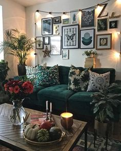 I'm about 7 hours into my first Interior Design assignment and either my brain has turned to mush due to me getting old or having children… Living Room Green, Boho Living Room, Living Room Sofa, Home And Living, Modern Living, Living Room Decor Brown And Grey, Cozy Living, Tropical Living Rooms, Small Living