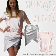 SHIMMER and ALICIA are the perfect #Summer pieces, wear together or apart but either way you're guaranteed to make the right statement!  Shop now: http://www.leboutiqueladiesfashion.com/separates.php