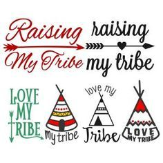 {FREE} Love My Tribe Svg Cuttable Designs