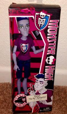 Monster High Ghoul Spirit Sloman Slo MO Mortavitch   eBay