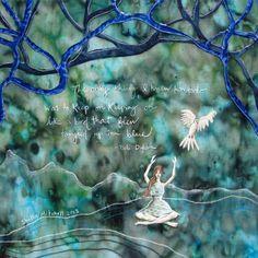 Tangled up in Blue bob dylan lyrics woman sitting by shellieartist #blue #shellieartist #tangledupinblue
