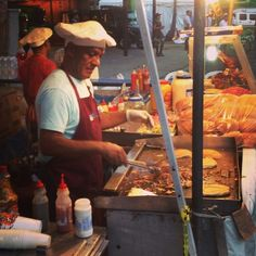 Image result for food street in dominican republic