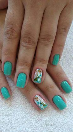 I'd wear these nails Fall Gel Nails, 3d Nails, Love Nails, Spring Nails, Summer Nails, Pretty Nails, Chic Nail Art, Chic Nails, Nail Envy