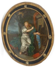 Artwork by French School, 18th Century, Allégorie de la fortune, Made of Oil on canvas