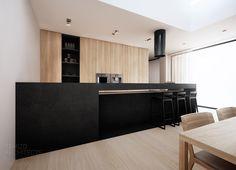 projekt wnętrz domu jednorodzinnego pk-house, łubki.