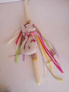Amelie-handmadebeauty: Χειροποίητες Πασχαλινές Λαμπάδες Xmas, Christmas Ornaments, Easter Crafts, Diy For Kids, Easter Candle, Candles, Amelie, Holiday Decor, Diy Ideas