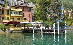 """See 4 photos and 3 tips from 22 visitors to Hotel Baia D'oro. """"A must for a 5 star meal in Gargnano. Attentive service and excellent cuisine and wines"""" 4 Photos, Four Square, Wines, Gold, Patio, Wine Cellars, Lake Garda, Luxury"""
