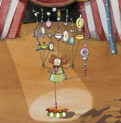 """Pulga Malavarista """"Circo de Pulgas"""" edit. """"Cuento de Luz""""      Monica Carretero"""